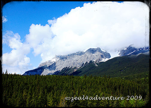 Canmore-mountain