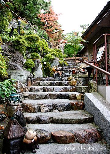 asahizaka-steps