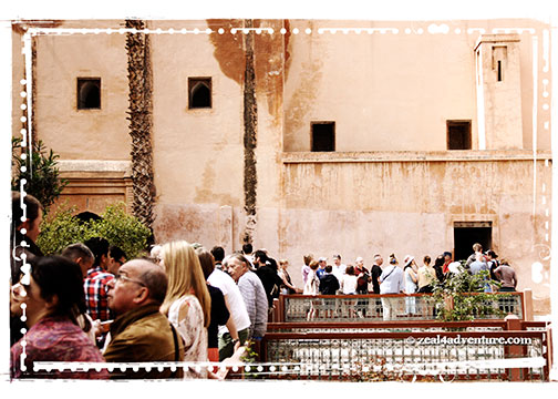 line-at-Saadian-Tombs