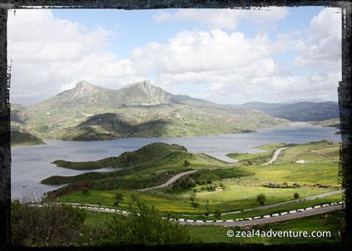 Zahara overlooking the lake
