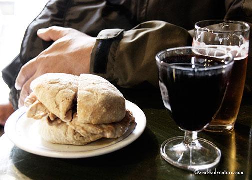 Bifina-sandwich
