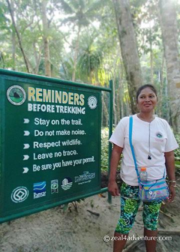 reminder-before-the-trek