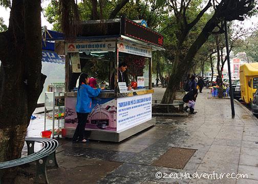 E-car-ticket-stall