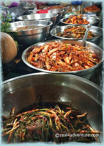 kimchi-variety