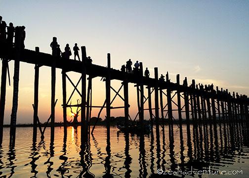 U-Bein-Sunset