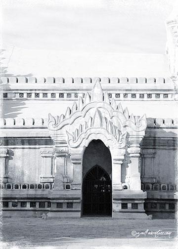 Ananda-Temple-door-detail